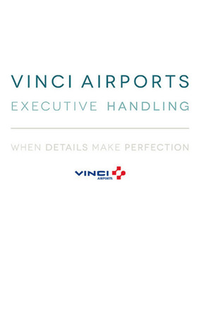 Vinci Airports executive handling Lyon Business Aviation